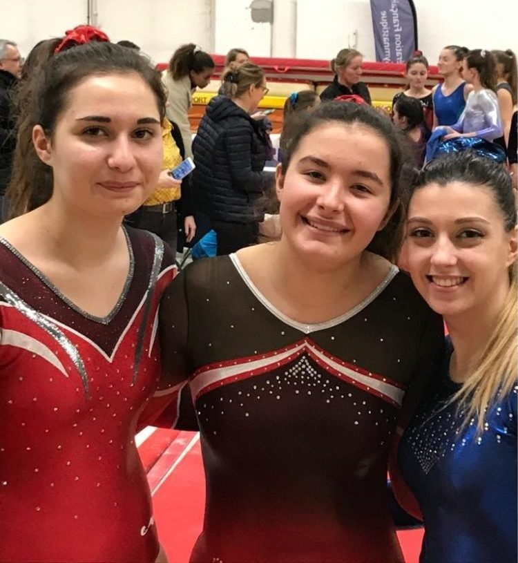 FED A 16-17 ans Elise 15éme et Lili 19éme En FED A 18 ans et + Morgane 13éme