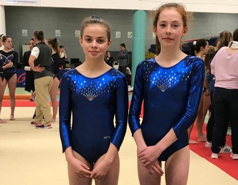 FED A 14-15 ans Lea 13ème et Lola 18ème